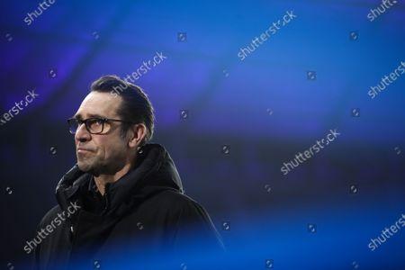 Hertha's sports director Michael Preetz prior to the German Bundesliga soccer match between Hertha BSC and Werder Bremen in Berlin, Germany, 23 January 2021.