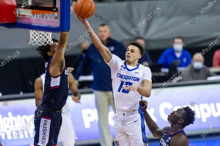 Editorial image of Connecticut Creighton Basketball, Omaha, United States - 23 Jan 2021