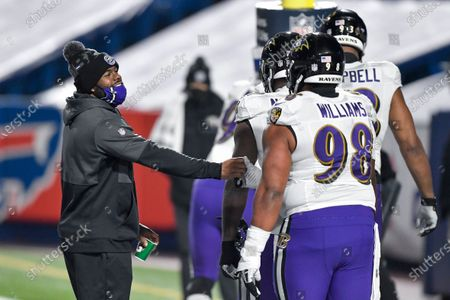 Editorial picture of Ravens Bills Football, Orchard Park, United States - 16 Jan 2021