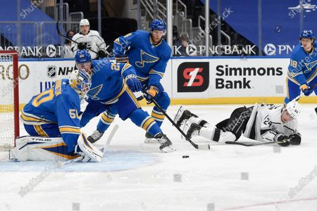 Editorial image of Kings Blues Hockey, St. Louis, United States - 23 Jan 2021