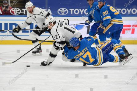 Editorial picture of Kings Blues Hockey, St. Louis, United States - 23 Jan 2021