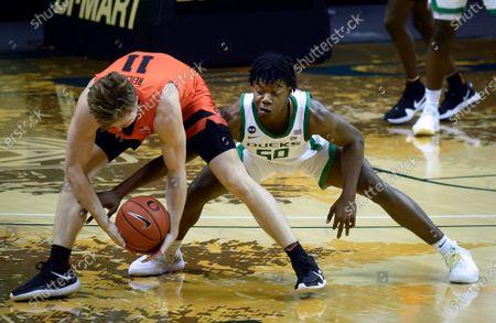 Editorial image of Oregon St Oregon Basketball, Eugene, United States - 23 Jan 2021