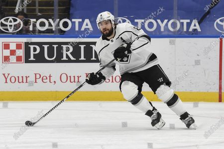 Los Angeles Kings' Drew Doughty (8) in action against the St. Louis Blues during the third period of an NHL hockey game, in St. Louis