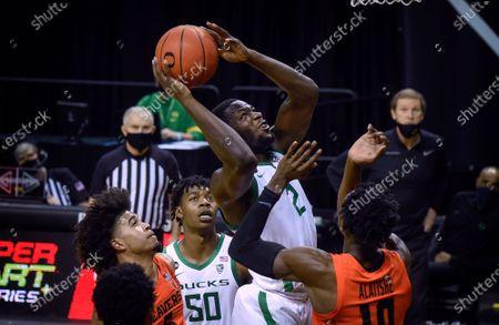 Editorial image of Oregon St Oregon Basketball, Eugene, United States - 03 Jan 2021