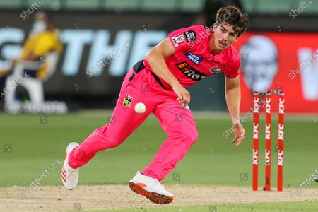 Editorial image of Hobart Hurricanes vs Sydney Sixers - 24 Jan 2021