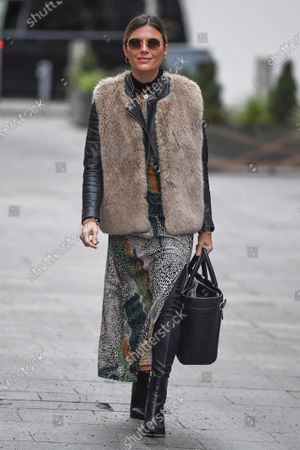 Editorial image of Zoe Hardman out and about, London, UK - 24 Jan 2021