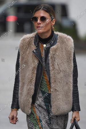 Editorial photo of Zoe Hardman out and about, London, UK - 24 Jan 2021