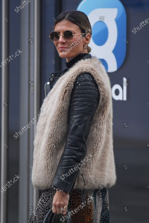 Editorial picture of Zoe Hardman out and about, London, UK - 24 Jan 2021