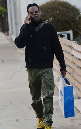 Editorial photo of Exclusive - Chris Rock out and about, Venice, CA, USA - 23 Jan 2021