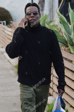 Editorial image of Exclusive - Chris Rock out and about, Venice, CA, USA - 23 Jan 2021