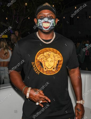 Stock Picture of Mack Maine attends DJ Stevie J at his birthday celebration at The Urban his birthday