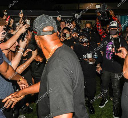 Lil Wayne attends DJ Stevie J's birthday celebration at The Urban his birthday