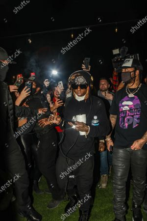 Editorial image of Lil Wayne with DJ Stevie J performance, Miami, FL, USA - 23 Jan 2021