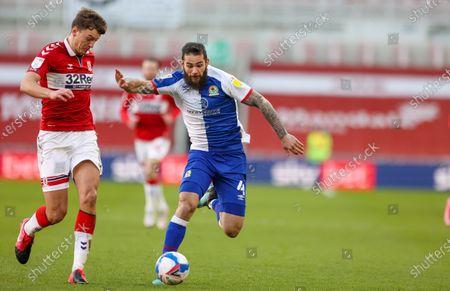 Editorial image of Middlesbrough v Blackburn Rovers, EFL Sky Bet Championship - 23 Jan 2021