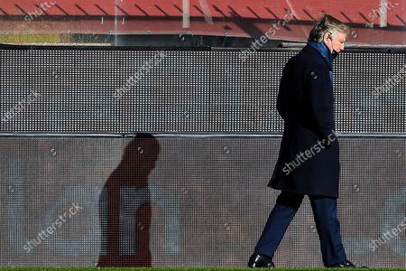 Editorial picture of Genoa CFC vs Cagliari Calcio, Italy - 24 Jan 2021