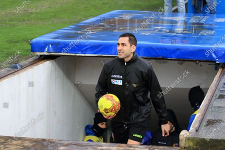 Serie C Italian Championship, Girone C Pro League football match between Paganese and Catania, 20th day of the championship. At the third inspection, the referee Andrea Colombo of Como has taken the decision to postpone the match of Pagani to a date to be set, considering impracticable conditions of the playing field, hit by an abundant rain in the last hours.