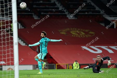 Editorial picture of Soccer FA Cup, Manchester, United Kingdom - 24 Jan 2021
