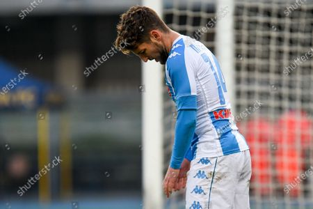 Disappointment, frustration of Dries Mertens (Napoli) for the defeat