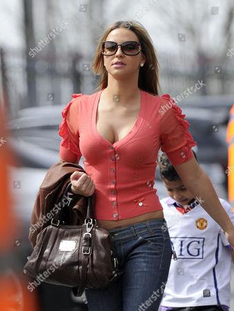 Daniela Martins girlfriend of Luis Nani