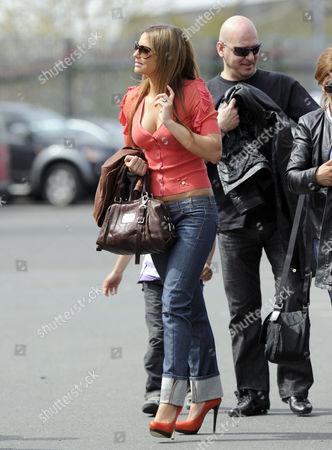 Daniela Martins girlfriend of Luis Nani,