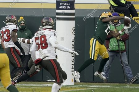 Editorial image of Buccaneers Packers Football, Green Bay, United States - 24 Jan 2021