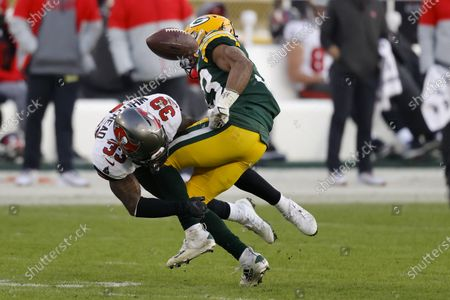 Editorial photo of Buccaneers Packers Football, Green Bay, United States - 24 Jan 2021