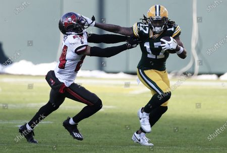 Editorial picture of Tampa Bay Buccaneers at Green Bay Packers, USA - 24 Jan 2021