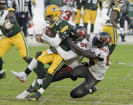 Editorial picture of Tampa Bay Buccaneers v Green Bay Packers, NFC Championship game, Lambeau Field, Wisconsin - 24 Jan 2021