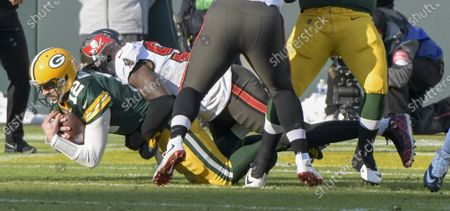 Editorial image of Tampa Bay Buccaneers v Green Bay Packers, NFC Championship game, Lambeau Field, Wisconsin - 24 Jan 2021