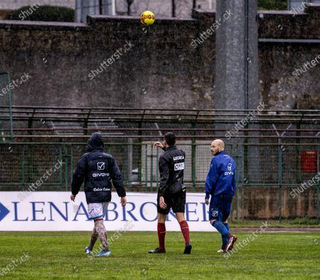 Editorial image of Matchday 20 in group C between Paganese vs Catania postponed, Pagani, Campania / Salerno, Italy - 24 Jan 2021