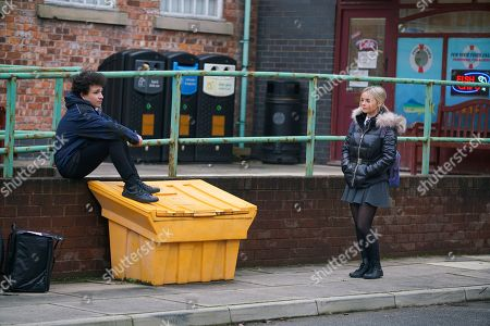 Editorial photo of 'Coronation Street' TV Show UK - 2021
