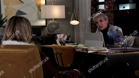 Coronation Street - Ep 10244 Monday 8th February 2021 - 2nd Ep In the bistro, Debbie Webster, as played by Sue Devaney, reminds Abi Franklin, as played by Sally Carman, that she saved her life and did what she had to do to protect herself. Abi's chastened.