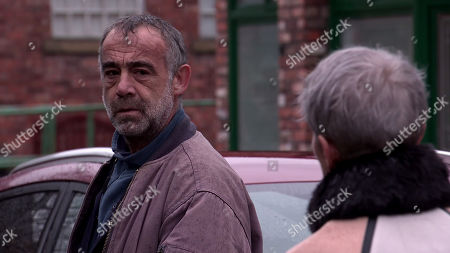 Coronation Street - Ep 10247 & Ep 10248 Friday 12th February 2021 Debbie Webster, as played by Sue Devaney, tells Sally Metcalfe that she'd like to hire the best lawyer for Faye and use Ray's money to fund it. Kevin Webster, as played by Michael Le Vell, is sceptical