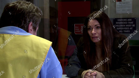 Coronation Street - Ep 10245 Wednesday 10th February 2021 - 1st Ep Carla Connor, as played by Alison King, visits Johnny Connor, as played by Richard Hawley, and quizzes him about his health. Johnny reluctantly admits that his eyesight has deteriorated to the point where he's hallucinating, he thought he saw Aidan and wonders if he's losing his marbles. Carla's deeply concerned.