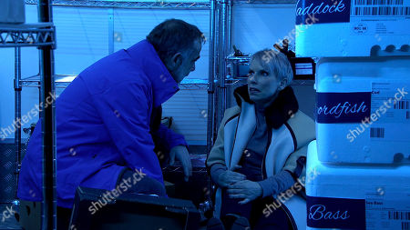 Coronation Street - Ep 10247 & Ep 10248 Friday 12th February 2021 A deeply worried Kevin Webster, as played by Michael Le Vell, and Debbie Webster, as played by Sue Devaney, prepare for a long night in the fridge.