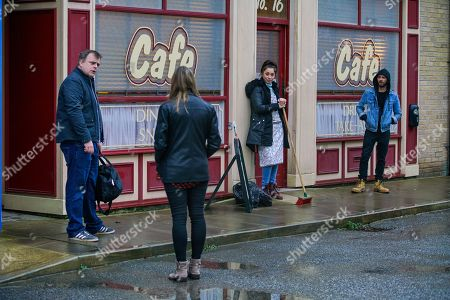 Editorial image of 'Coronation Street' TV Show UK - 2021