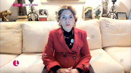 Editorial image of 'Lorraine' TV Show, London, UK - 25 Jan 2021