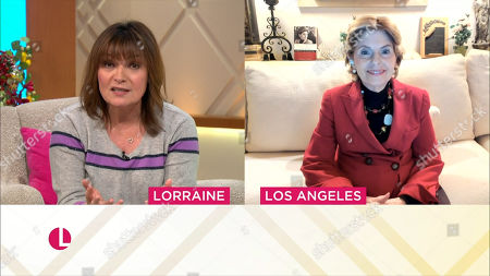 Stock Image of Lorraine Kelly and Gloria Allred