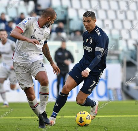 Editorial picture of Italy Turin Football Serie a Juventus vs Bologna - 24 Jan 2021