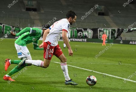 Leo Dubois defender Olympique Lyonnais