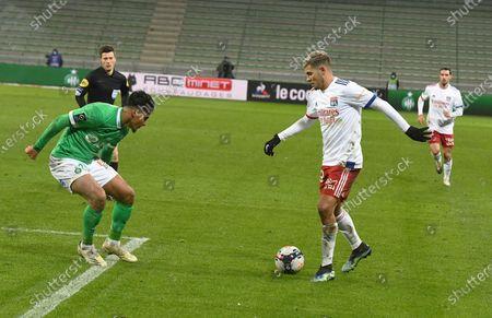 Bruno Gomez scores Olympique Lyonnais