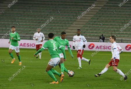 Maxence Caqueret Olympique Lyonnais