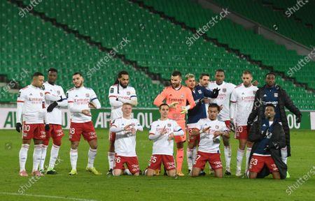 Editorial picture of Saint-Etienne (ASSE) vs Olympique Lyonnais (OL), French L1 football match, Geoffroy Guichard Stadium, Saint Etienne, France - 24 Jan 2021