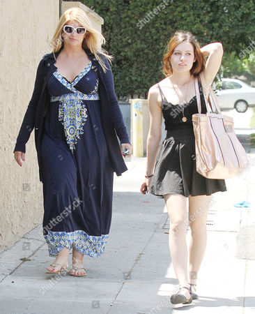 Editorial picture of Kirstie Alley out and about, Los Angeles, America - 26 Apr 2010