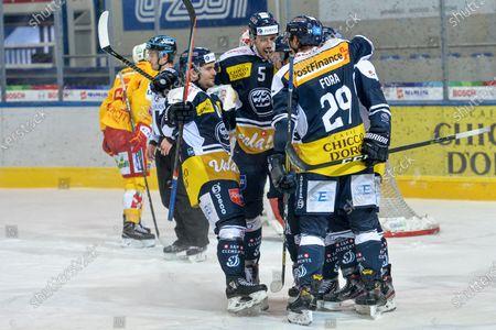 Editorial photo of HC Ambri-Piotta vs EHC Biel-Bienne, National League, Stadio Valascia, Ambri, Switzerland - 24 Jan 2021