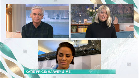 Phillip Schofield, Holly Willoughby and Katie Price