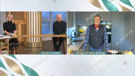 Holly Willoughby, Phillip Schofield and Nick Nairn