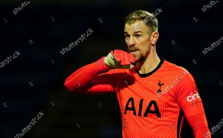 Goalkeeper Joe Hart of Tottenham Hotspur