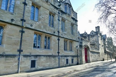Stock Picture of St John's College Oxford which owns the Lamb & Flag pub