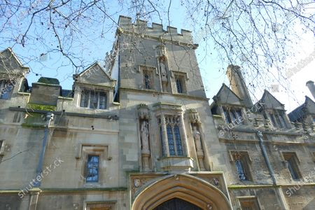 Stock Image of St John's College Oxford which owns the Lamb & Flag pub